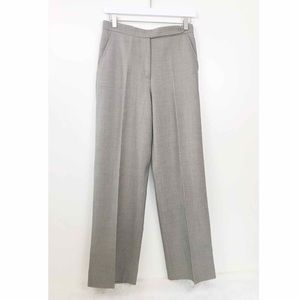 MaxMara • Tan Wool Straight Leg Trousers 2